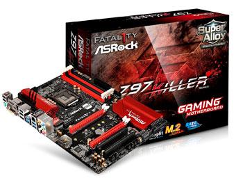 6 GPU – ASRock ATX DDR3 1333 LGA 1150 Motherboards Z97 EXTREME4 1150
