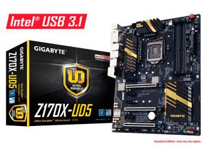 Gigabyte GA-Z170X-UD5 Motherboard LGA 1151