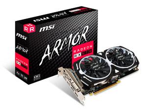 MSI RX 570 Armor 4G OC Gaming