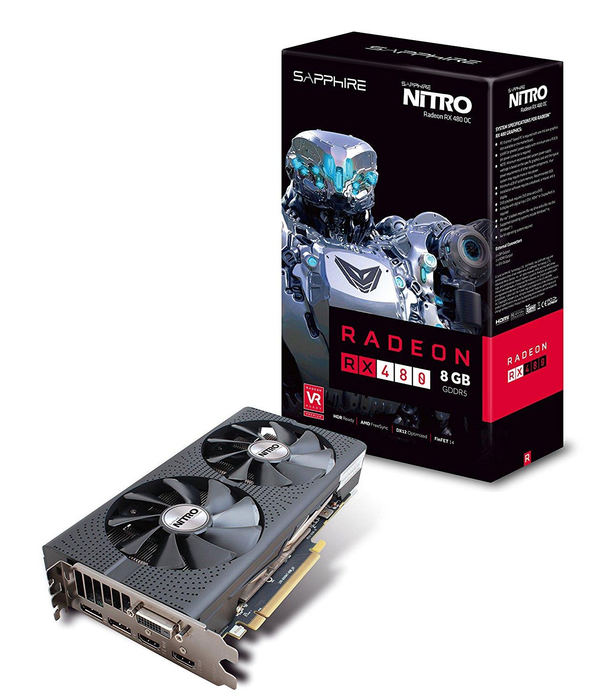 Sapphire Radeon Nitro + RX 480 8GB OC