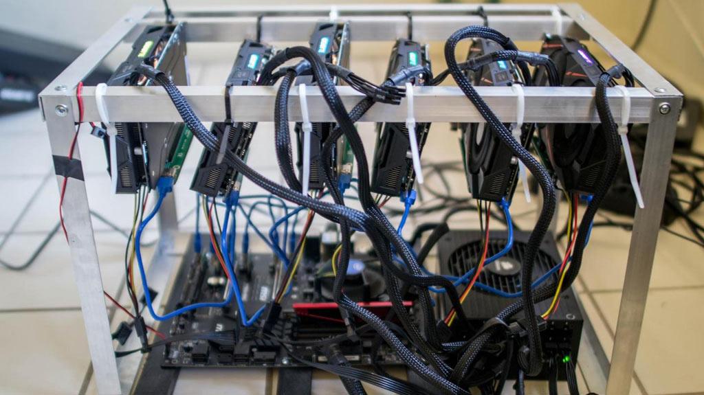 cómo armar un rig de minería ethereum