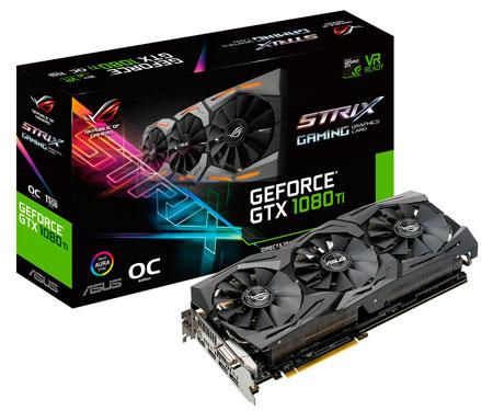ASUS Rog Strix GTX 1080TI GAMING 11GB