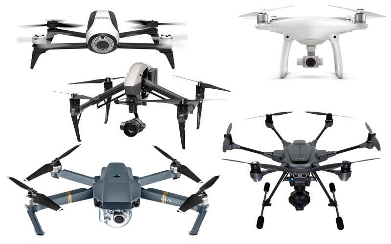 Los 5 mejores drones profesionales 2017