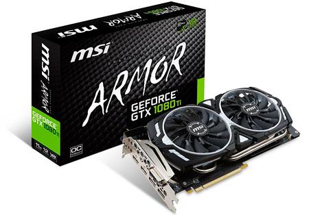 MSI GTX 1080 TI Armor 11GB
