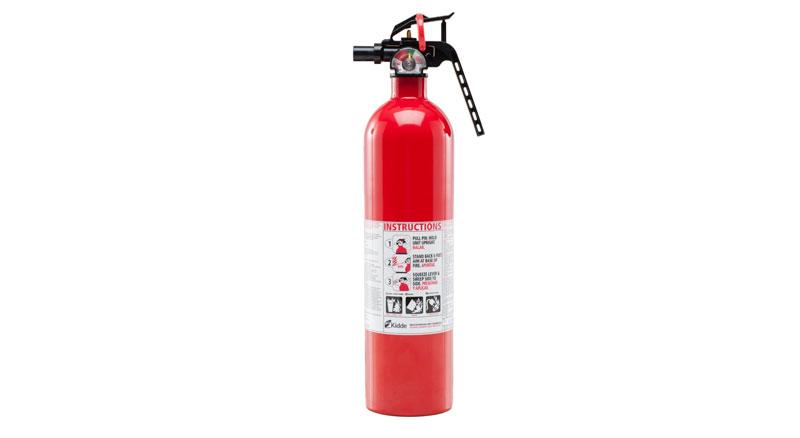 Extintor de incendios multiuso