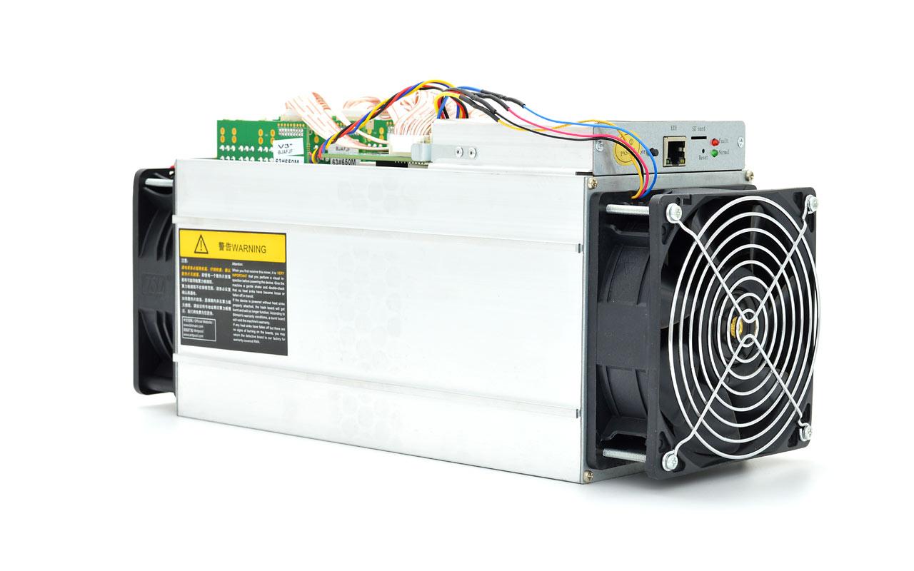 Como minar Bitcoins con el minero Antminer S9
