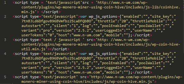 Implementación de código en WordPress