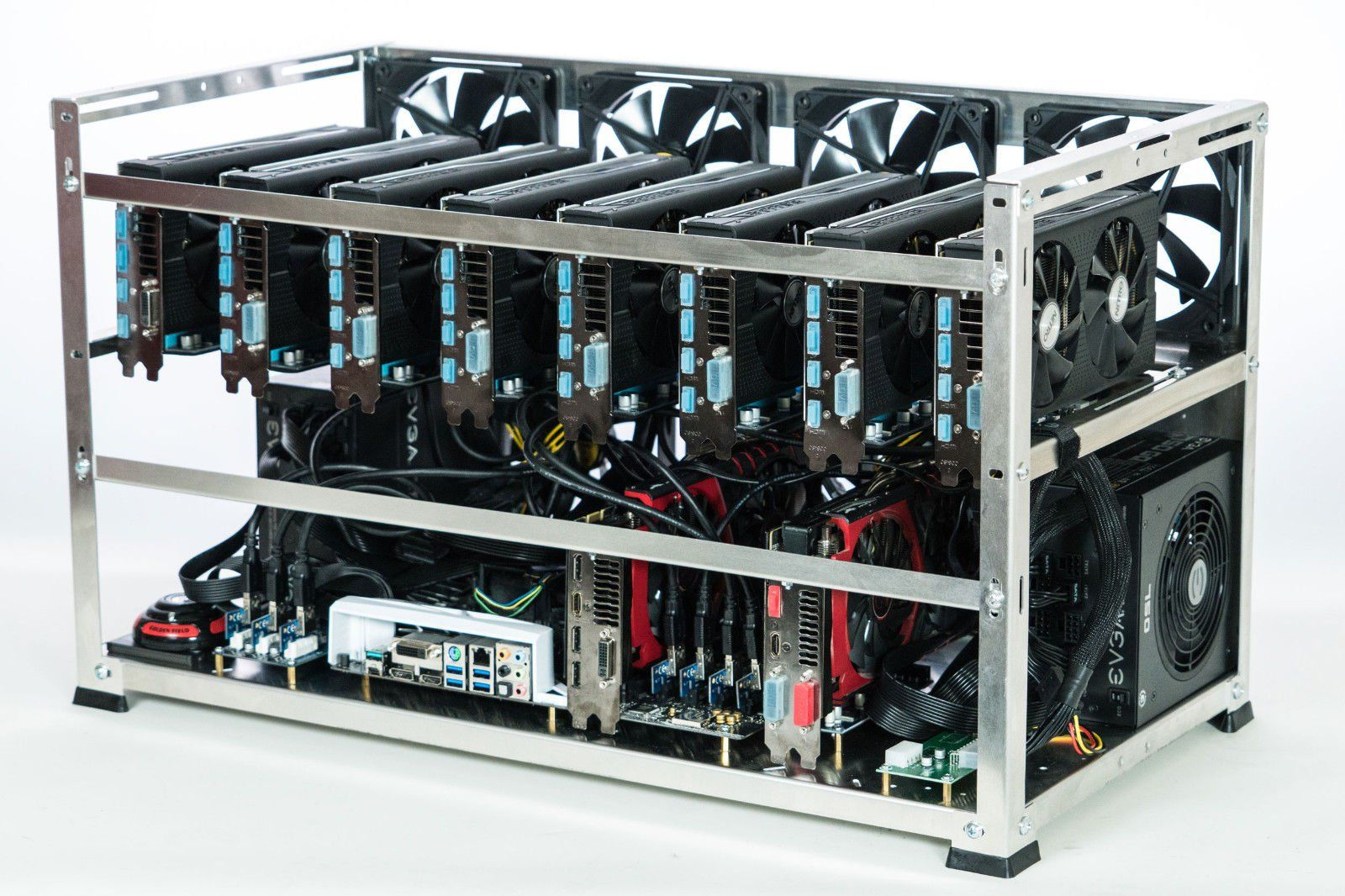 How To Bitcoin Mine In The Browser Mining Rig 18 Gpu