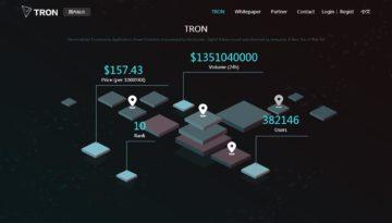 ¿Qué es TRON? Conoce la criptomoneda que ha subido 12755% en solo un mes