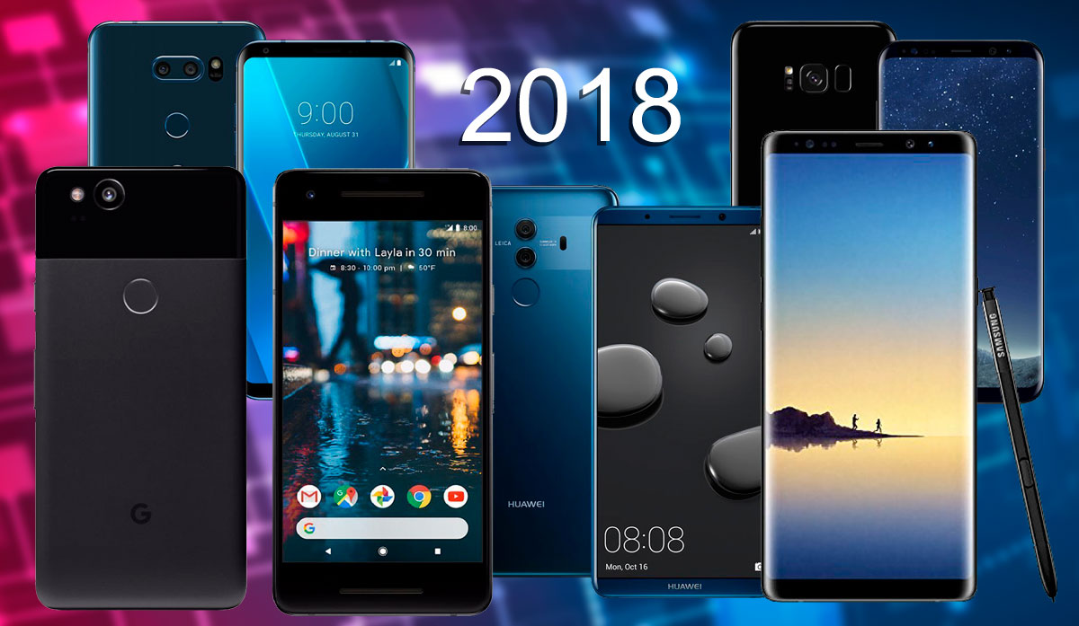 Los mejores teléfonos Android 2018