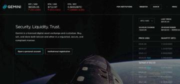 Exchange Gemini lanzará soporte para Zcash, Bitcoin Cash y Litecoin