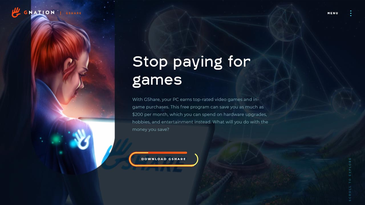GShare: una aplicación para ganar criptomonedas con tu PC