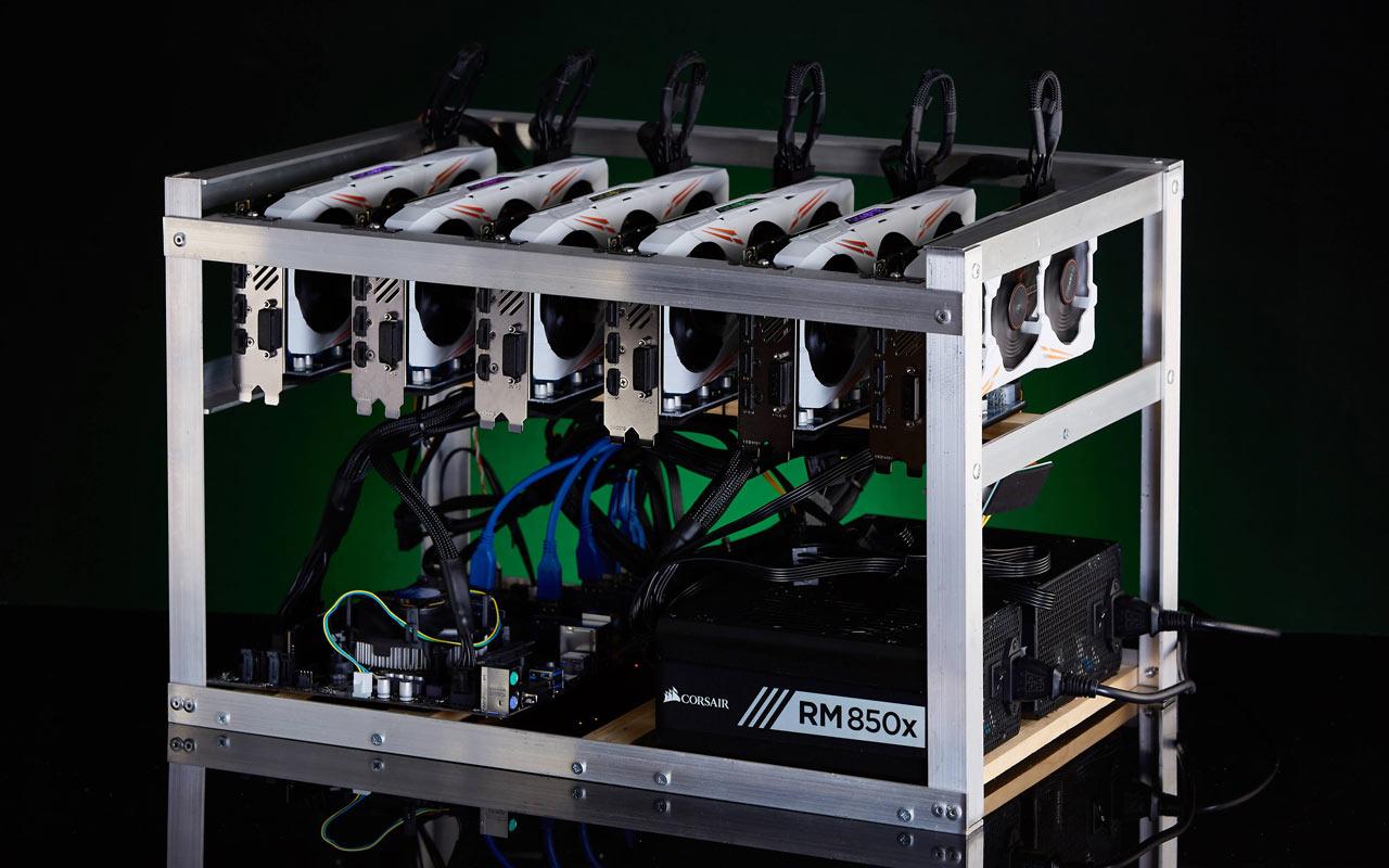 Cómo construir un rig de minería de criptomonedas (2018)
