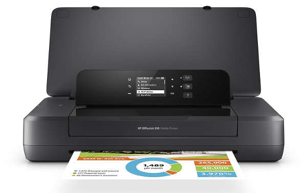 HP OfficeJet Mobile 200