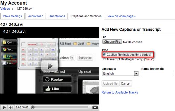 Cómo crear subtítulos SRT con cualquier editor de texto y