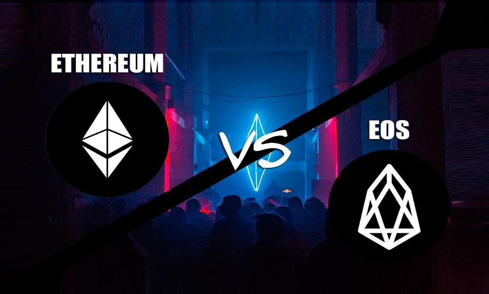 Ethereum vs. EOS, análisis de las dos plataformas Dapp más grandes de Blockchain