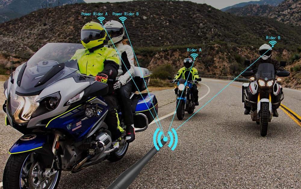 Los mejores cascos bluetooth para moto