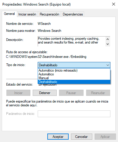 acelerar windows 10 2019