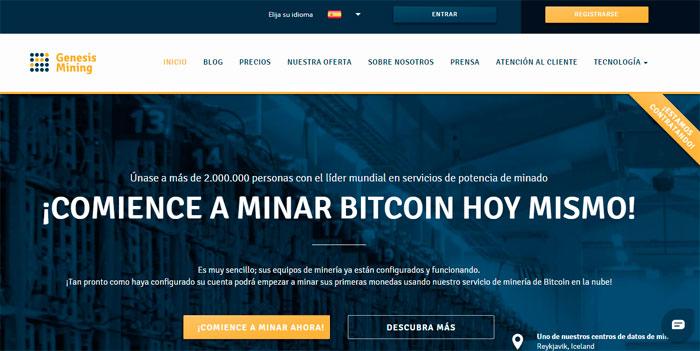 minería Bitcoin en la nube
