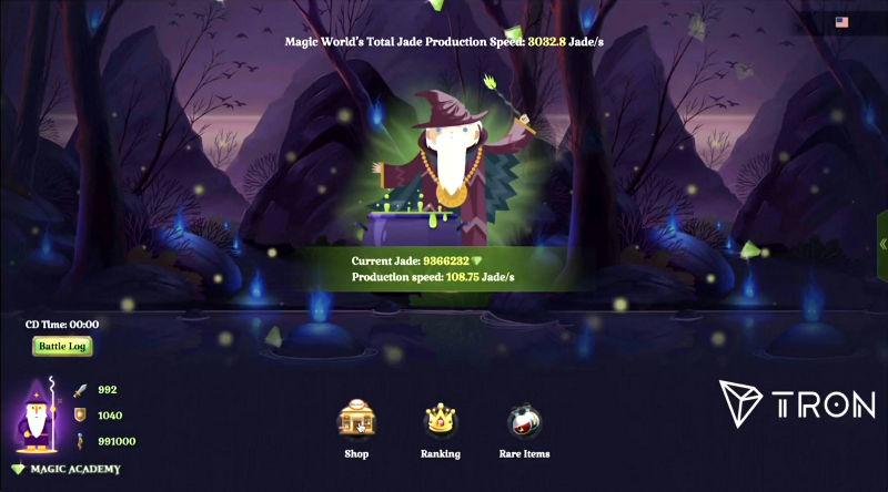 Tron (TRX) lanza su primer videojuego