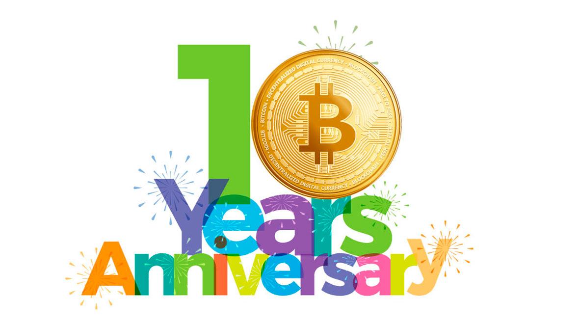 Bitcoin cumple 10 años: Una mirada a su loca historia