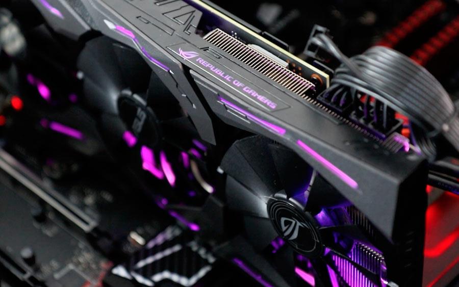 Asus permitirá a los jugadores minar criptomonedas con sus tarjetas gráficas