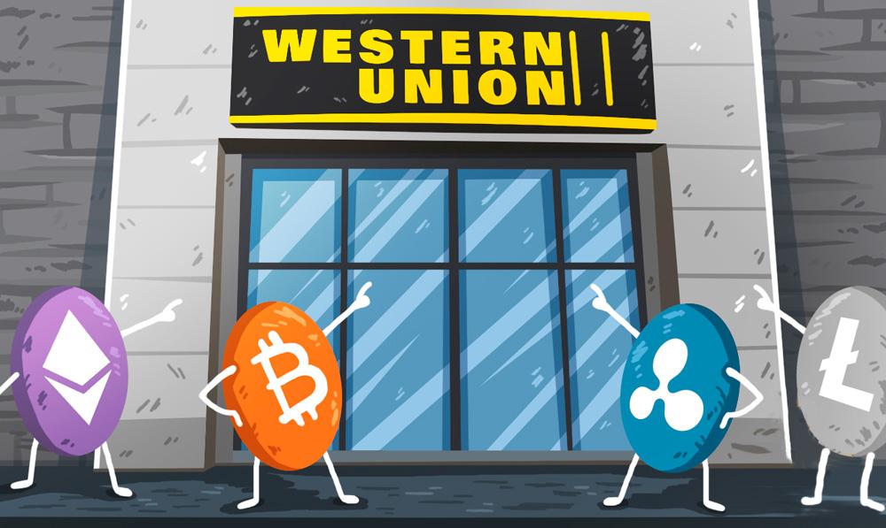 Western Union utilizaría criptomonedas en sus servicios