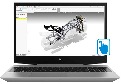 HP ZBook 15v G5 Premium Home and Business 15.6 Touchsreen