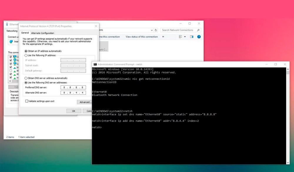 Cómo cambiar la configuración DNS en Windows 10