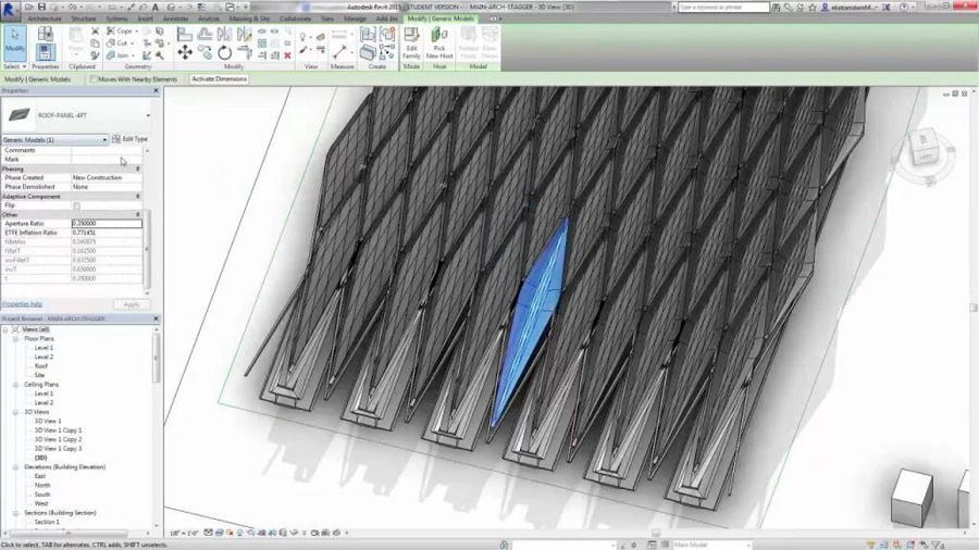 dosftware de arquitectura 3D Dynamo