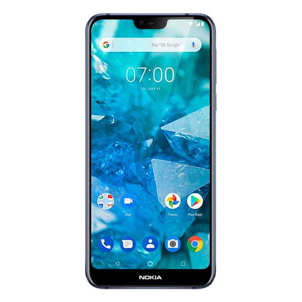 a771c17a09c El Nokia 7.1 es un smartphone Android con pantalla Full HD+ de 5.84  pulgadas, con un pequeño notch superior. Potenciado por un procesador  Snapdragon 636, ...