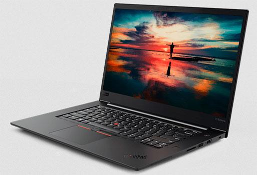 ThinkPad X1 Extreme. Mejores laptops lenovo en mexico