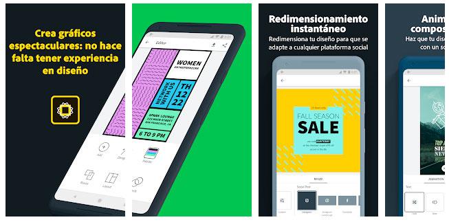 Las mejores aplicaciones Android para Diseñadores Gráficos