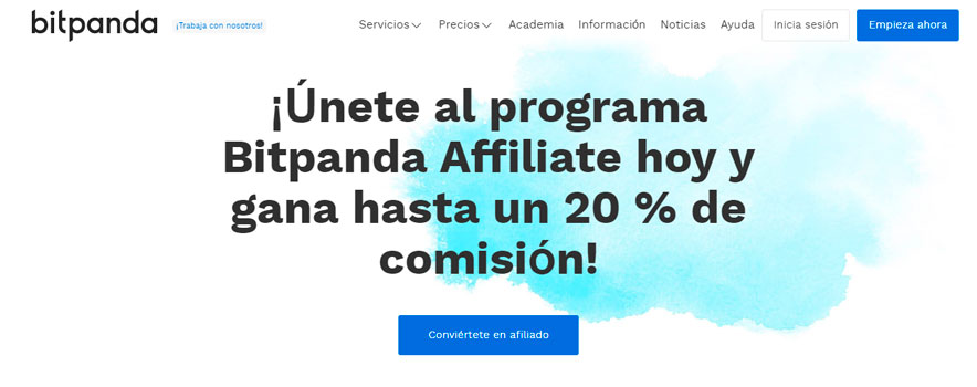 Ganar Euros en internet con Bitpanda