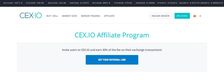 Gana dolares gratis en Cex
